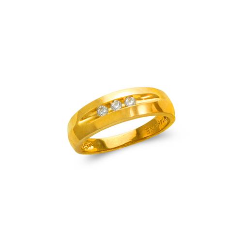 873-533 Ladies Couple CZ Ring