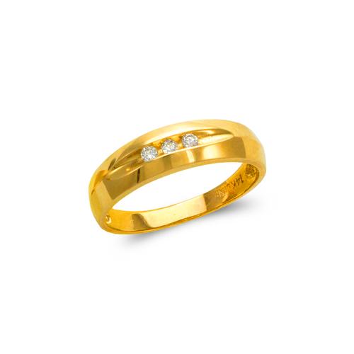 873-534 Men's Couple CZ Ring