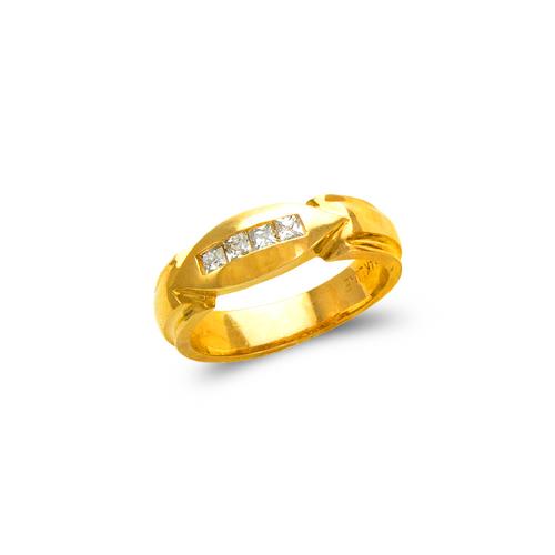 873-535 Ladies Couple CZ Ring