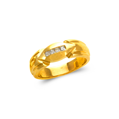 873-536 Men's Couple CZ Ring
