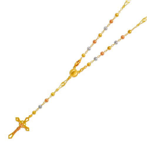 357-002T Rosary Tricolor Chain