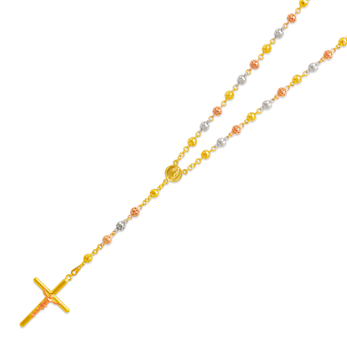 357-003T Rosary Tricolor Chain