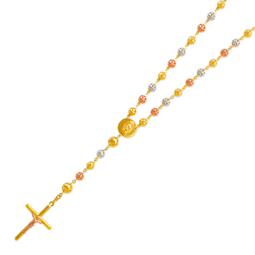 357-004T Rosary Tricolor Chain