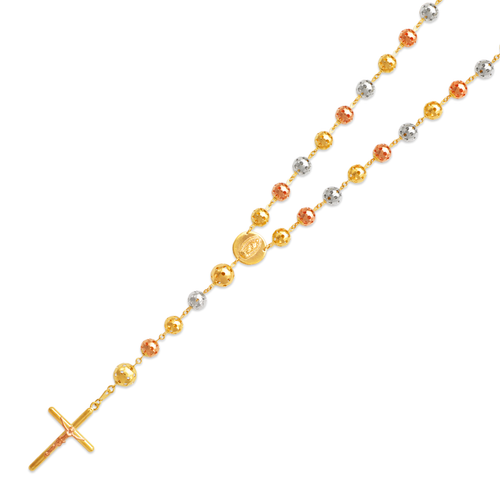 357-005T Rosary Tricolor Chain