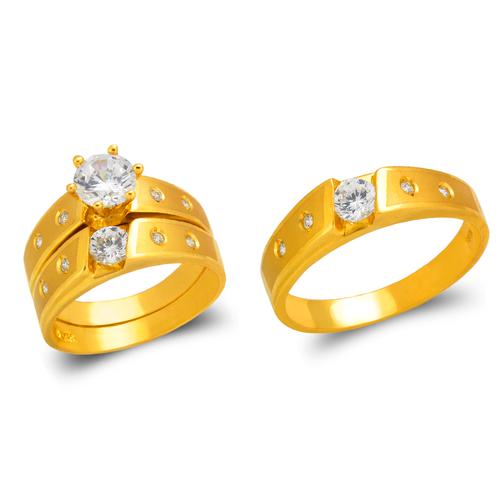 473-610S Wedding Trio Ring Set
