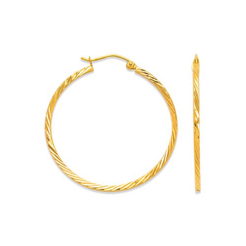 546-341S 1.7mm Square Tube Earrings