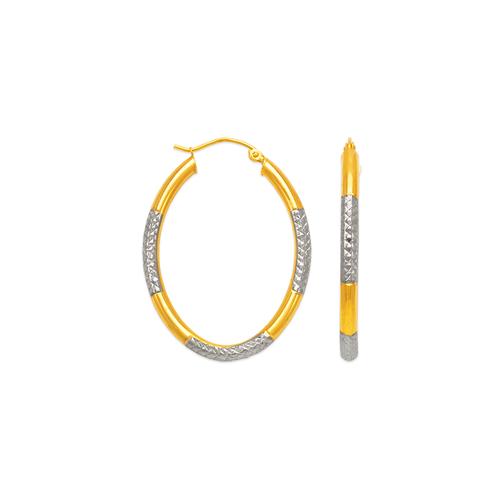 546-931ZS 3mm Round Tube Hoop Earrings