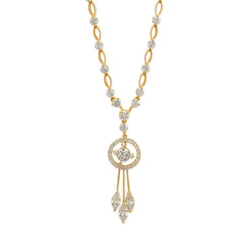 483-001 Fancy CZ Necklace