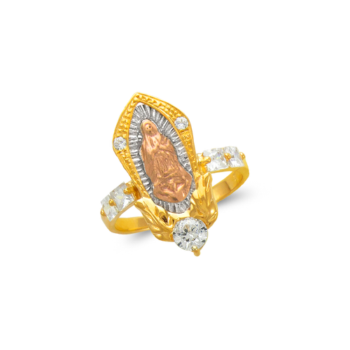 483-019 Ladies Fancy Guadalupe CZ Ring