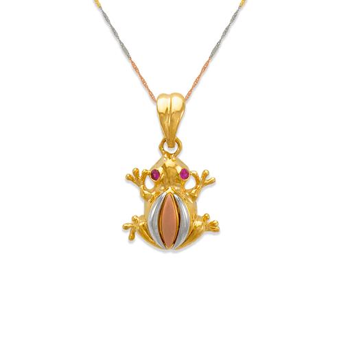 483-205 Fancy Frog CZ Pendant