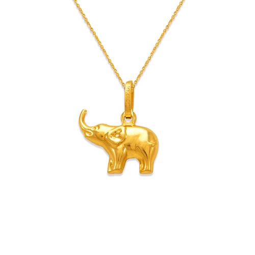 166-008 Elephant Charm Pendant