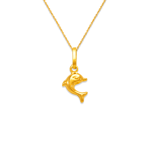 166-012 Dolphin Charm Pendant