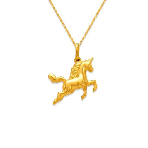 166-017 Unicorn Charm Pendant