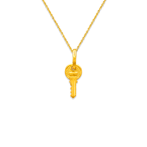 166-028 12mm Key Charm Pendant