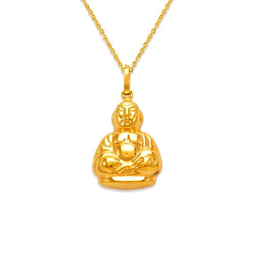 166-045 20mm Buddha Charm Pendant