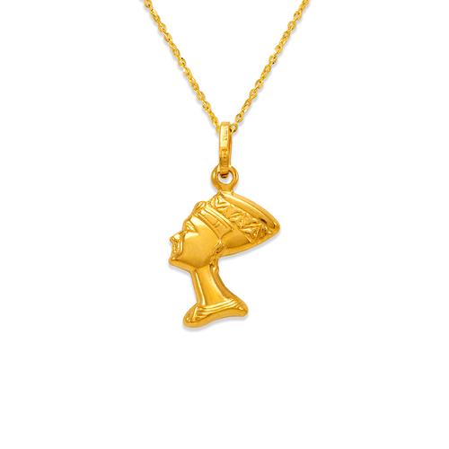 166-046 15mm Cleopatra Charm Pendant