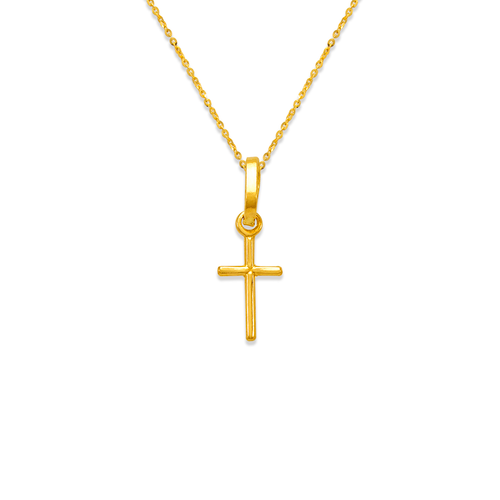 166-053 Cross Charm Pendant