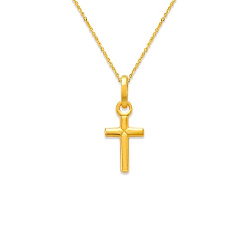 166-054 Cross Charm Pendant