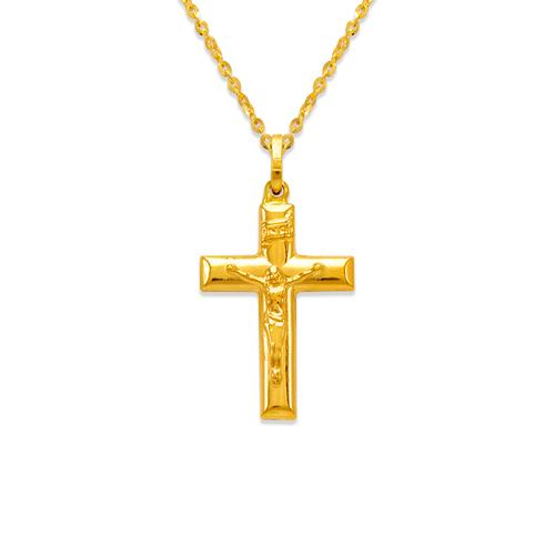 166-056 24mm Jesus Cross Charm Pendant