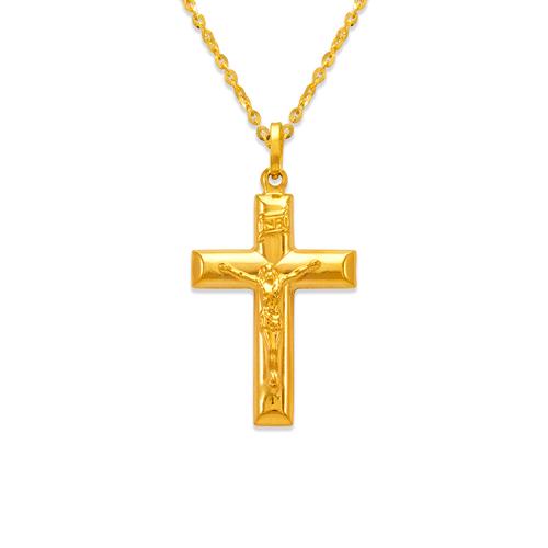 166-057 29mm Jesus Cross Charm Pendant