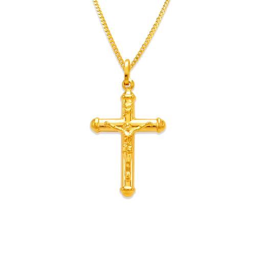 166-088 29mm Jesus Cross Charm Pendant