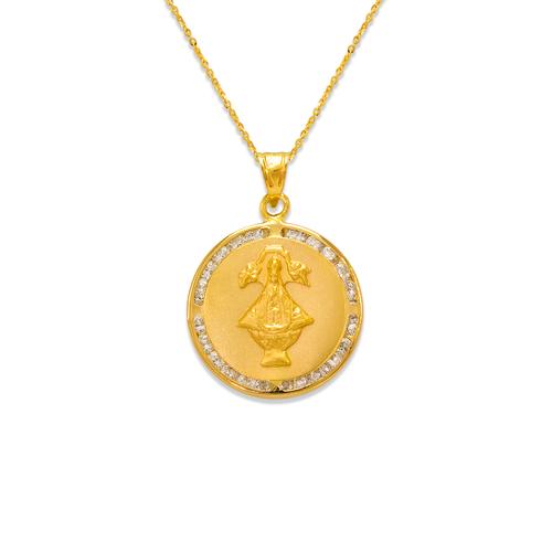 367-416 San Juan de los Lagos CZ Pendant
