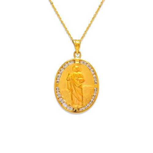 367-435 San Judas CZ Pendant