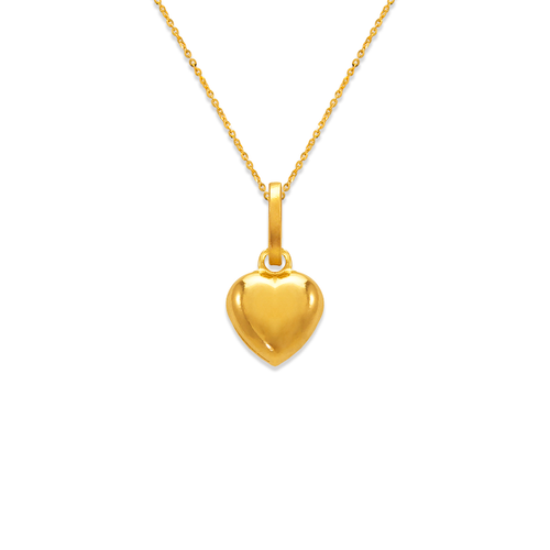 166-073 8mm Heart Charm Pendant