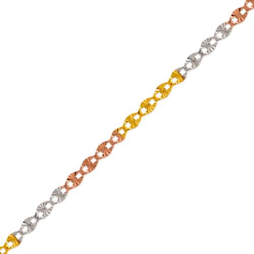 132-415TS Gucci Star Tricolor Chain