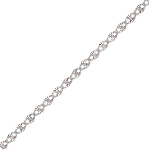 132-415WS Gucci Star White Chain