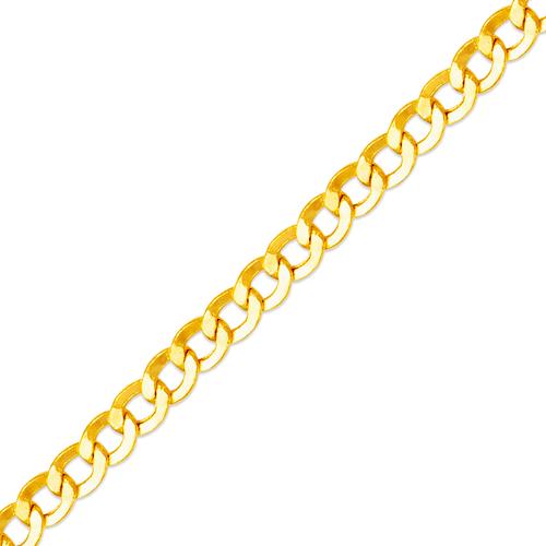 136-101S Hollow Curb Chain