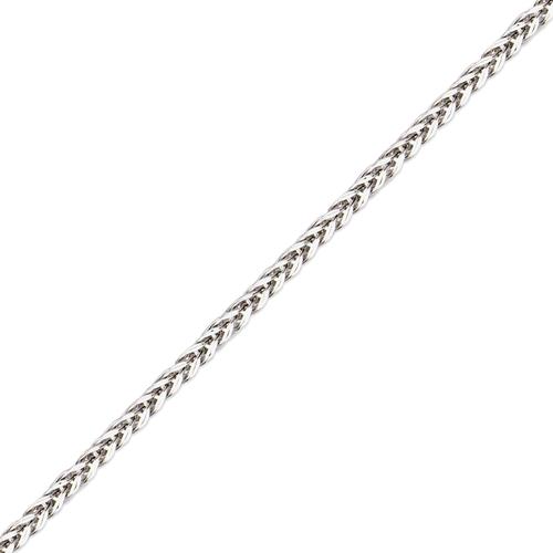 136-603WS Hollow Square Wheat White Chain