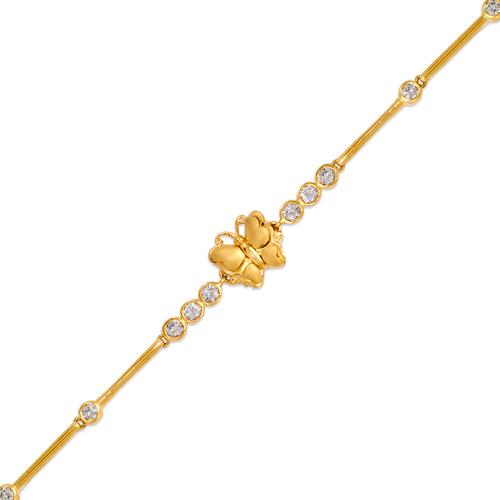 423-110 Ladies Fancy Butterfly CZ Bracelet