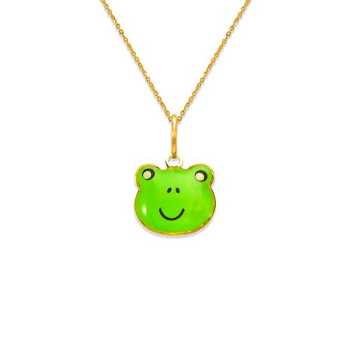 367-910 Froggie Enamel Pendant