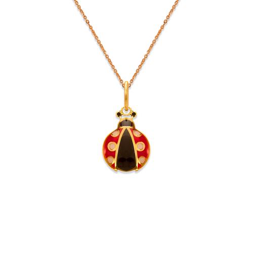 367-915 Ladybug Enamel Pendant