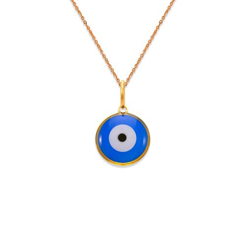 367-916 Evil Eye Enamel Pendant