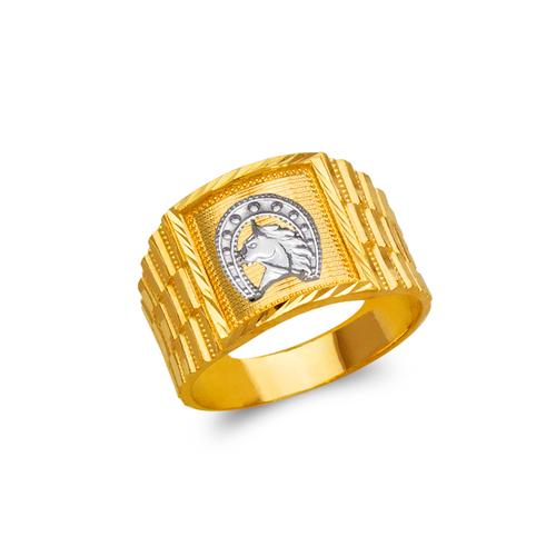 577-106 Men's Horseshoe Ring