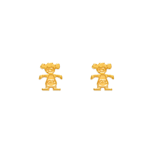 343-230 Girl Stud Earrings