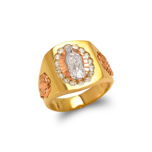 473-054 Men's Fancy Guadalupe CZ Ring