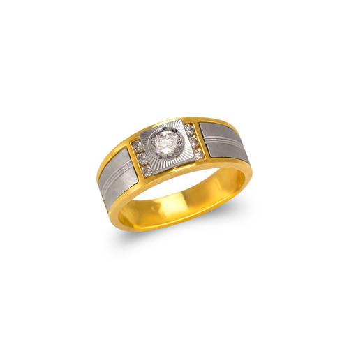 473-108 Ladies Fancy Couple CZ  Ring
