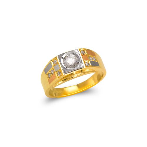 473-118 Ladies Fancy Couple CZ Ring