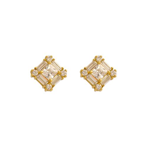 483-601 Fancy CZ Stud Earrings