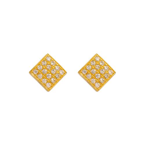 483-603 Fancy CZ Stud Earrings