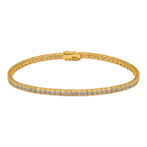 723-125 Channel Set CZ Tennis Bracelet 2.5mm