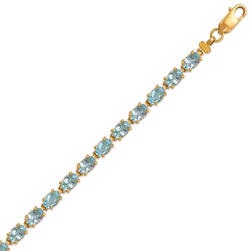 523-011LB Ladies Mystic Topaz Bracelet
