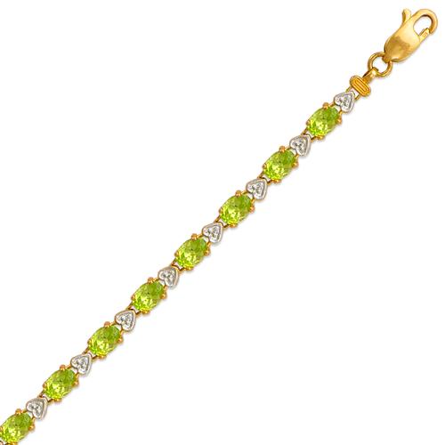 523-013 Ladies Mystic Topaz Bracelet
