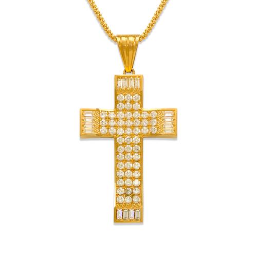 563-017 Cross CZ Pendant