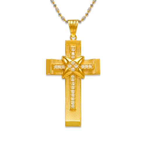 563-019 Cross CZ Pendant