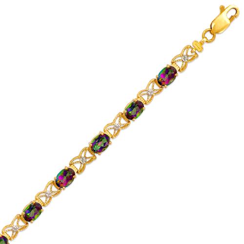 523-016 Ladies Mystic Topaz Bracelet