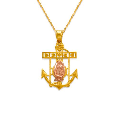 568-070A Jesus Anchor Pendant